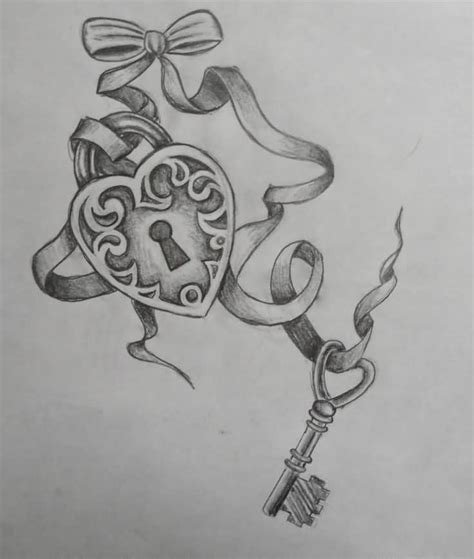 key tattoo ideas and key tattoo designs page 66