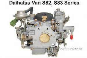 Daihatsu Hijet Carburetor Daihatsu Hijet S82 S83 Series Factory Rebuilt Carburetor