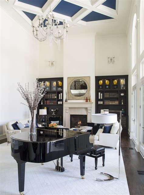 story family great room baby grand piano great