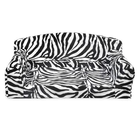 zebra settee animal predatory pet sofa settee sizes small medium