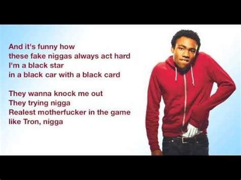 childish gambino ucla lyrics childish gambino ucla lyrics