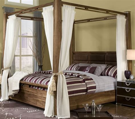 King Size Canopy Bed With Curtains by King Size Canopy Bed With Curtains Interior Design Ideas