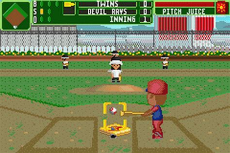 backyard baseball online game play backyard sports baseball 2007 nintendo game boy
