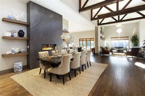fireplace in dining room instead of living room 100 fireplace design ideas for a warm home during winter