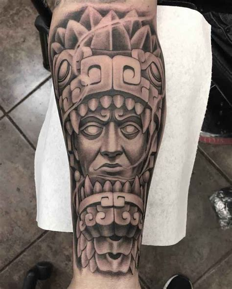 aztec art tattoos 50 of the best aztec tattoos insider