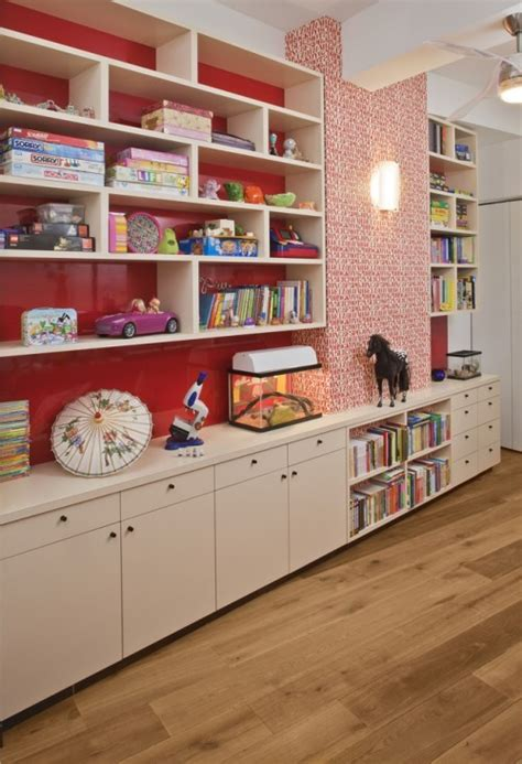 divide to conquer playroom storage problems