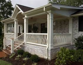 front porch plans for a single level house