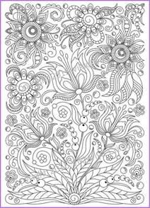 doodle free pdf coloring page pdf printable doodle flowers by zentanglehouse