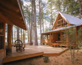 cabin ideas gorgeous kamado joe prices in exterior rustic with deck landscaping next to small lake house