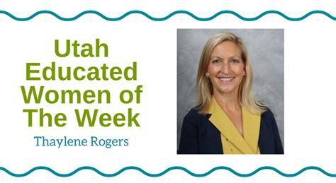Part Time Mba Programs In Utah by Educated Of The Week Thaylene Rogers