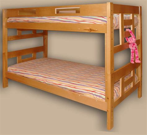 bunked beds hardwood bunk beds