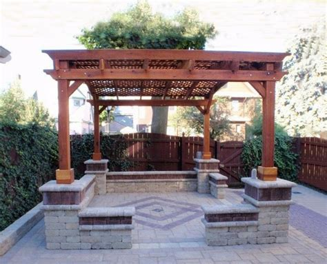 Patio Furniture Pergola Arched Pergola Traditional Patio Other Metro By