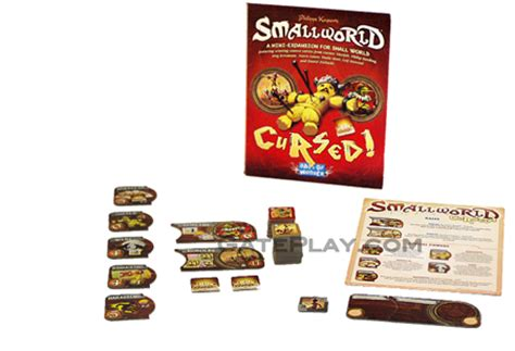 Small World Cursed Small World Cursed Board Expansion Days Of