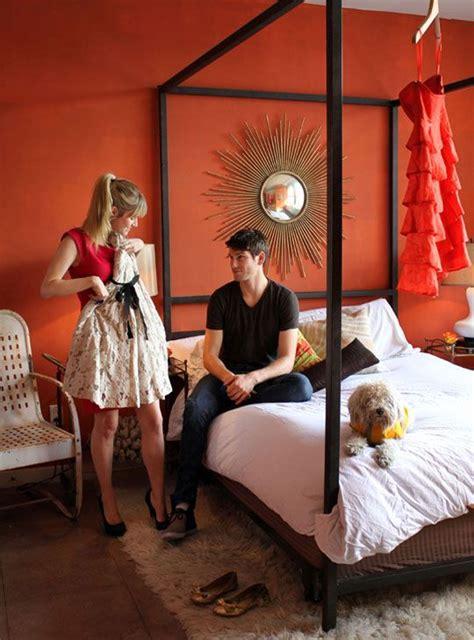 25 best ideas about burnt orange bedroom on orange home office paint burnt orange
