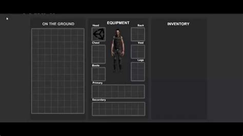 grid layout in unity inventorytest 1 grid based unity3d youtube