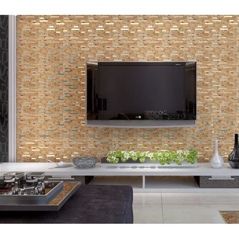 wall backsplash interlocking tile 304 stainless steel tiles crystal glass