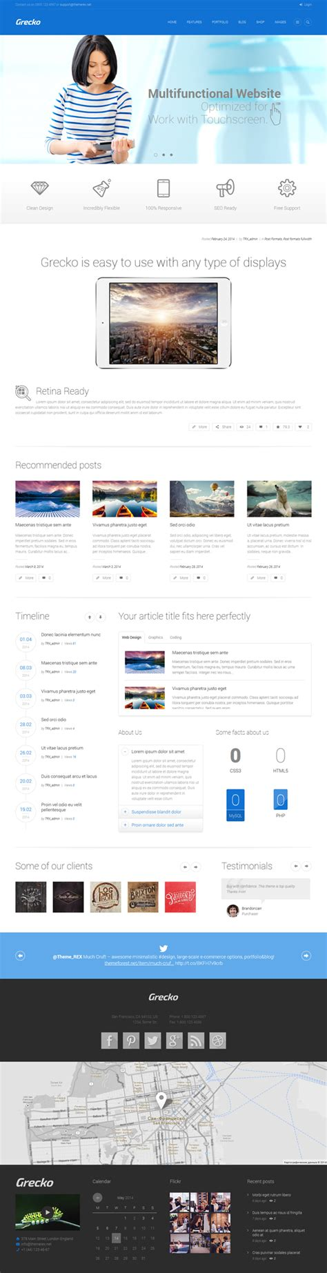 themes wordpress responsive 2014 html5 coded responsive wordpress themes wordpress themes