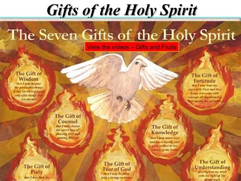 9 fruits and gifts of the holy spirit gifts and fruits of the holy spirit