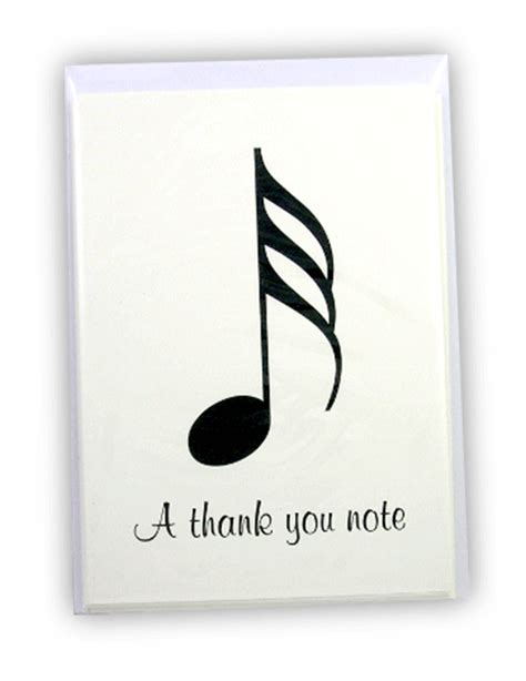 printable music thank you cards music teacher thank you notes best free home design