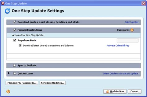 one update the complete guide to getting started with quicken 2017