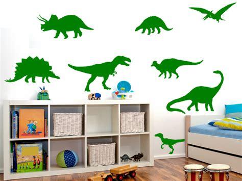 dinosaurier badezimmer wandspruch de dinosaurier dino set l wandtattoo