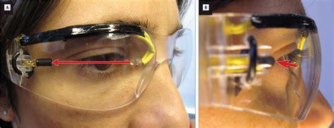 Eye Blink infrared based blink detecting glasses for pacing