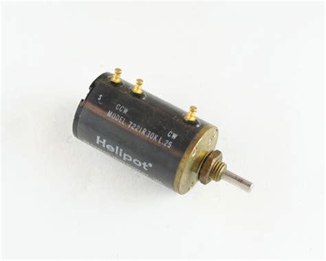beckman resistor pack 7221r30kl 25 beckman potentiometer 30 kohm multiturn 2022004263