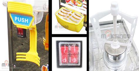 Dispenser Di Bandung jual juice dispenser 2 tabung 17 liter adk17x2 di bandung toko mesin maksindo bandung