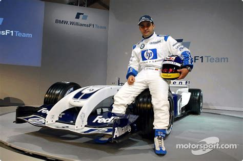 Wheels Williams F1 Fw23 Juan Pablo Montoya juan pablo montoya with the new williamsf1 bmw fw26 at