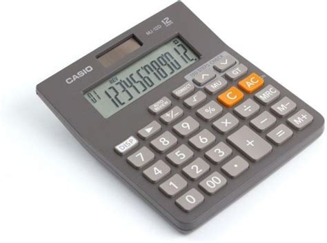 Casio Calculator Mj 12d calculadora casio de mesa de 12 d 237 gitos mj 12d w bs
