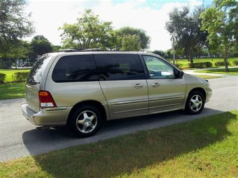 manual cars for sale 2000 ford windstar parking system sell used 2000 windstar sel power sliding door rear ac leather 7 passenger seating in pompano