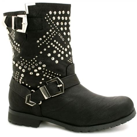 studded ankle boots cr boot