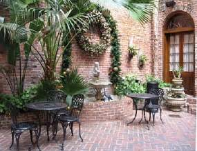 Flower Shops New York - courtyard picture of quarter house resort new orleans