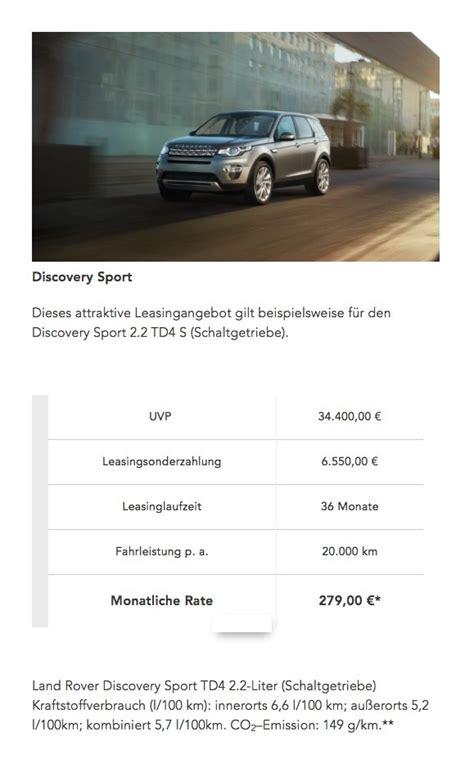 bank austria leasing gebrauchtwagen land rover discovery sport gebrauchtwagen g 252 nstig kaufen