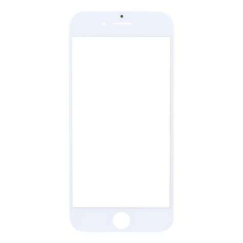 replacement for iphone 8 plus front screen outer glass lens white alexnld