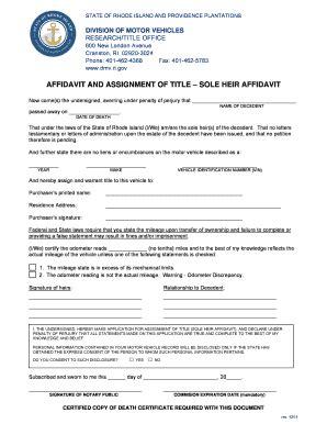 Gift Letter Ri Dmv Bill Of Sale Form Rhode Island Affidavit Of Gift Of Motor