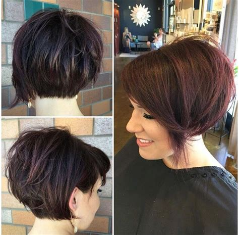 stacked bob pixie haircuts 1000 ideas about stacked bob short on pinterest pixie