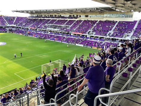 sc section new orlando city sc stadium opens soccer stadium digest