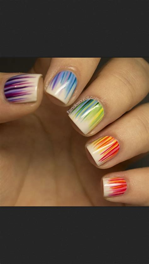 colorful nail 18 great nail designs for nails pretty designs