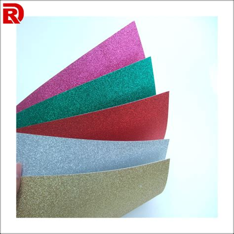 Glitter Paper For Card - crafts glitter paper for decoration diy gift