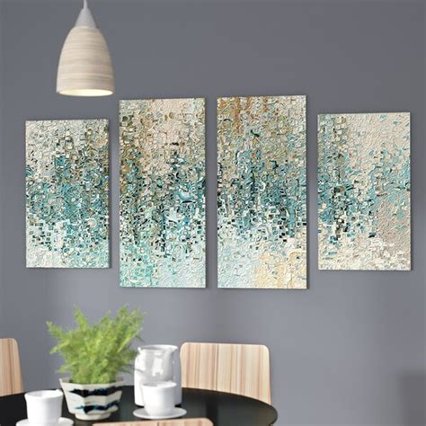 revealed framed  piece set  canvas reviews birch lane