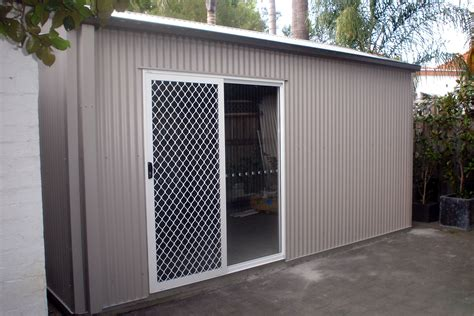 Outdoor Garages And Sheds by The Pros And Cons Of Metal Garden Sheds Shed Blueprints