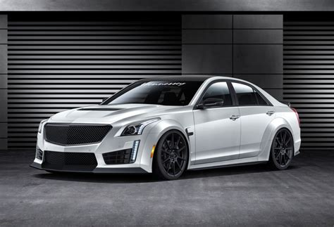 Performance Cadillac by Hennessey Performance Previews 1000hp Cadillac Cts V