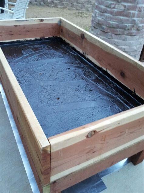 building a planter box garden