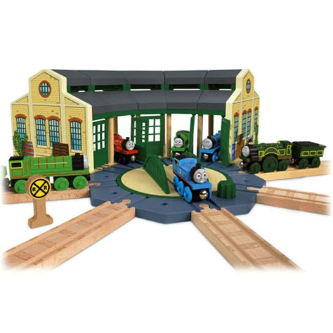Tidmouth Shed by Friends Wooden Railway Tidmouth Sheds