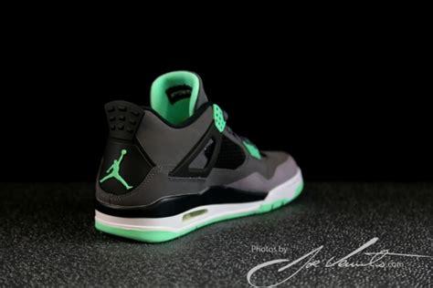 Joey Glow Black quot green glow quot air 4 retro sneakernews