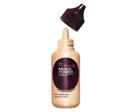 Maybelline Mineral Sense Of Water Skin Shedding makeup confession maybelline mineral power perfecting liquid foundation