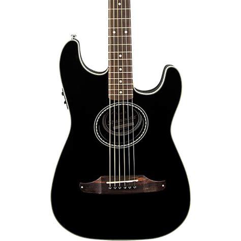 Gitar Akustik Fender List fender standard stratacoustic acoustic electric guitar