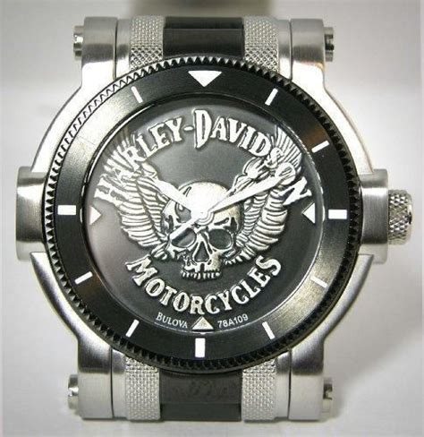 Harley Davidson Chronograph Hd6620 Leather 1000 images about s h d watches on bulova
