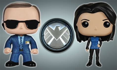 Funko Agents Of Shield Director Coulson With Lola 6328 funko brings the director and cavalry into their s h i e l d pop vinyl family
